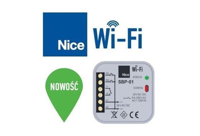 Sterownik elektroniczny Nice Wi-Fi już dostępny