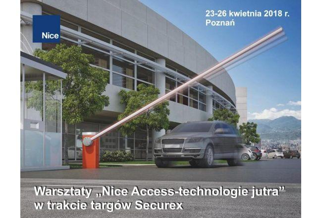 """Warsztaty """"Nice Access – technologie jutra"""" w trakcie targów SECUREX"""