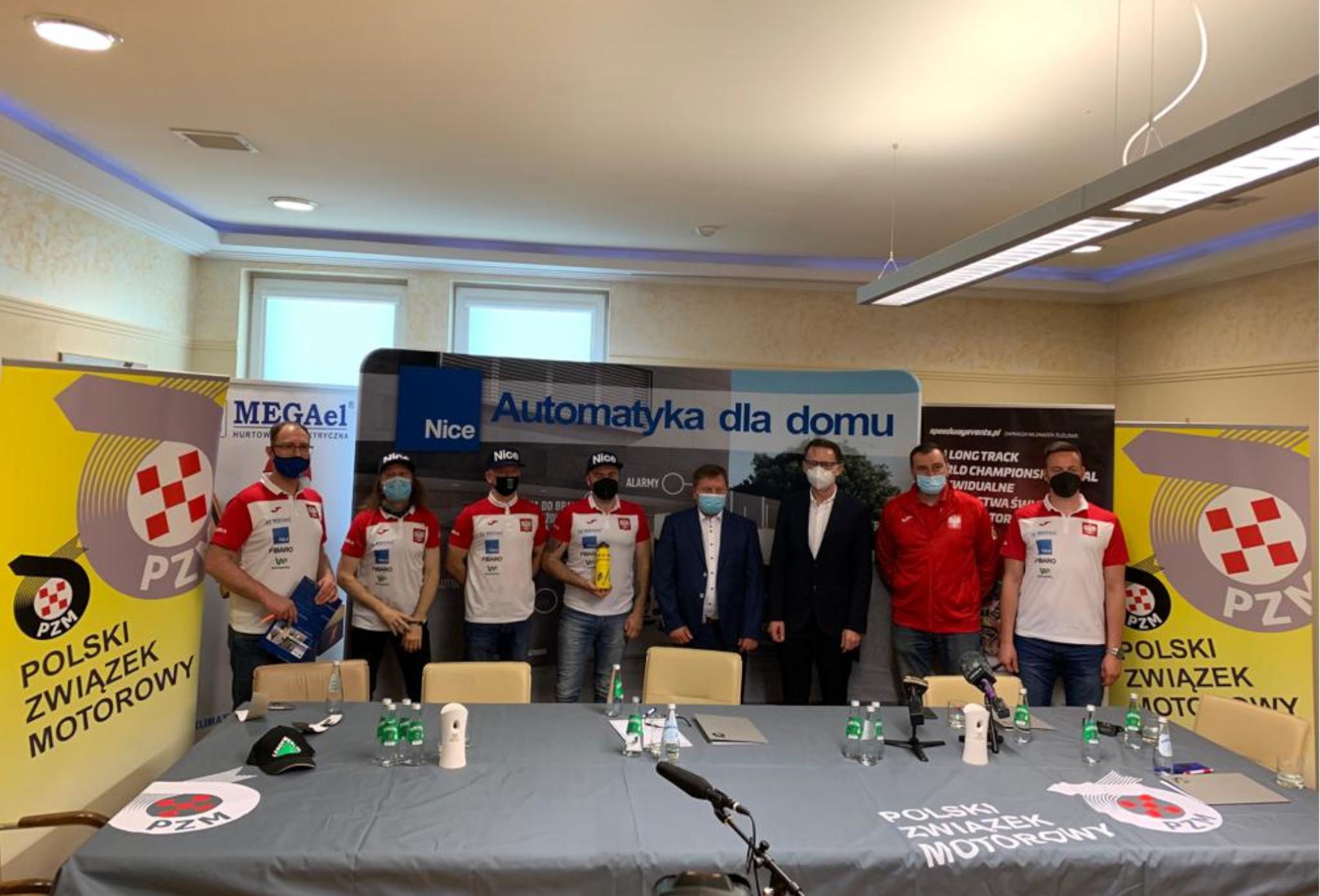 MEGAel Tarnów oraz Nice sponsorami polskiej żużlowej reprezentacji na długim torze